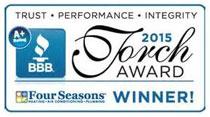 Better Business Bureau Torch Award Winner logo