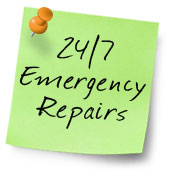 24/7 Emergency roof repairs