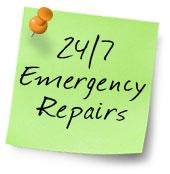 24/7 Emergency roof repairs